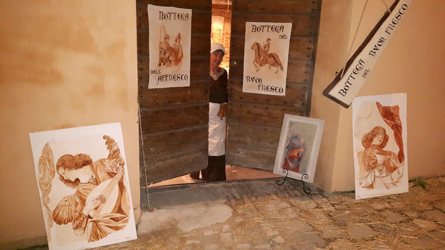 Patrizia Gioia_Bottega del affresco_HistorischerMarkt